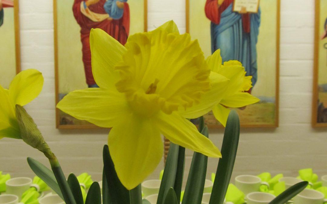 Pääsiäisyön ateria sunnuntaina 21.4.